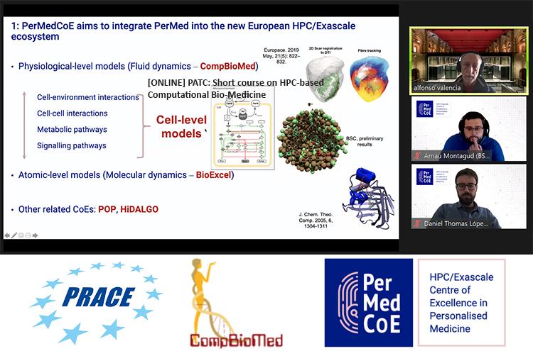 PerMedCoE participates in PATC training