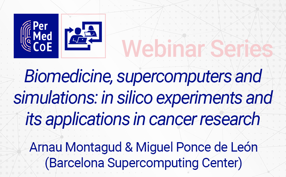 Biomedicine, supercomputers and simulations: in silico experiments and its applications in cancer research